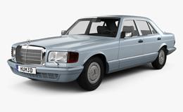 MERCEDES W126 (1979-1991)